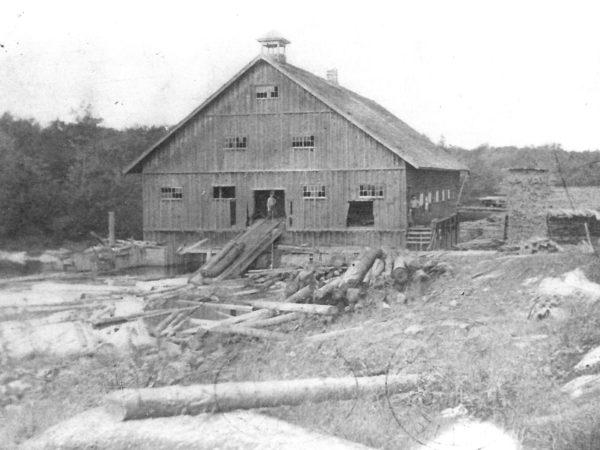 Chester Van Ornum Sawmill in DeGrasse