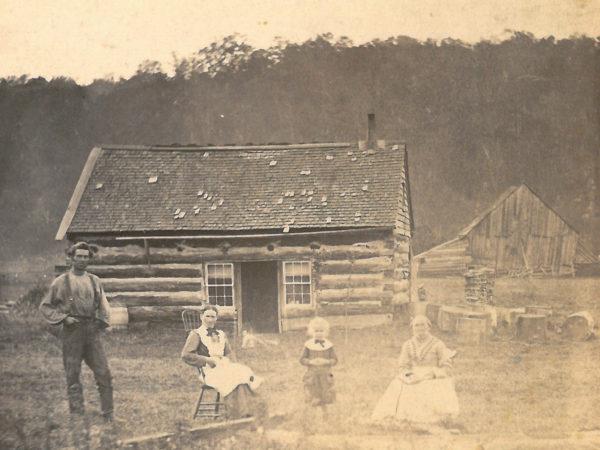 The David Bullock homestead on Elm Creek