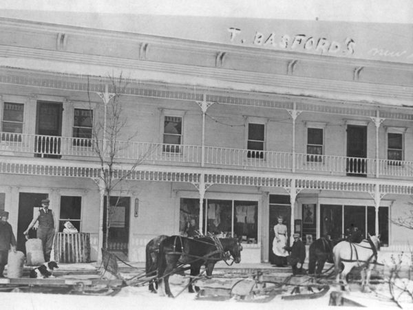 Thomas Basford's store in DeGrasse
