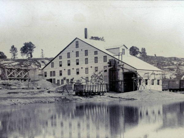 The St. Lawrence Pyrites Mill in Stellaville