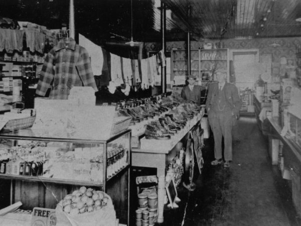 Interior of the Ross Brick Store in Lawrenceville