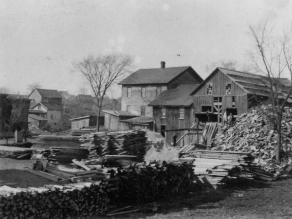 Pope's Saw and Grist Mill in Macomb