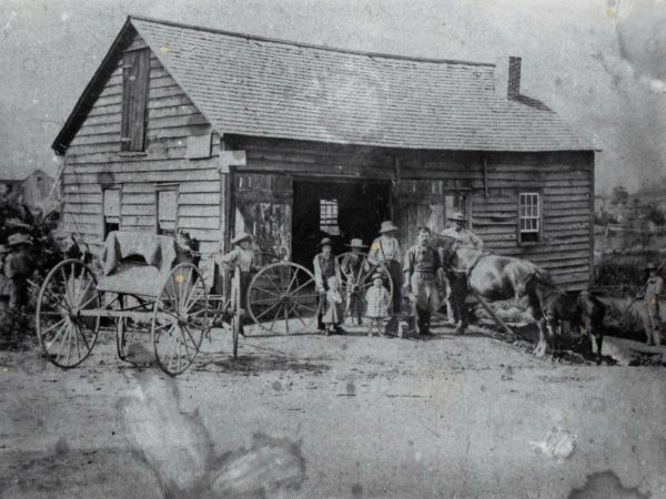 Blacksmith shop at Pope Mills in Macomb