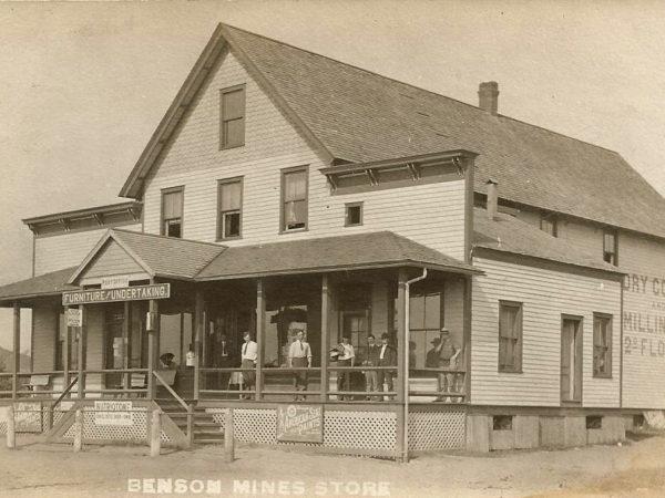 Exterior Benson Mines Store