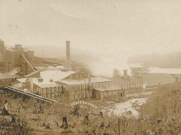 Newton Falls Paper Mill complex in Newton Falls