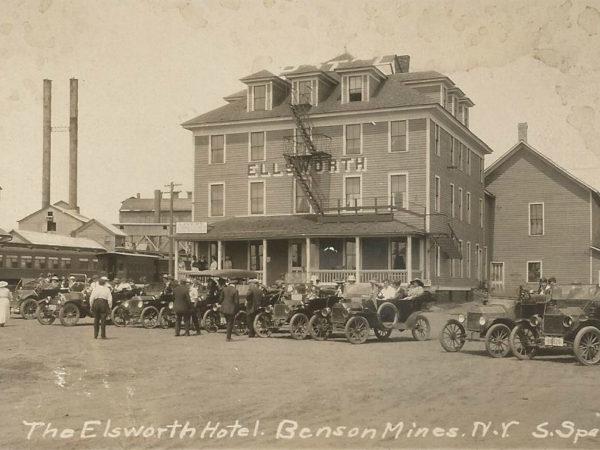 The Ellsworth Hotel in Benson Mines