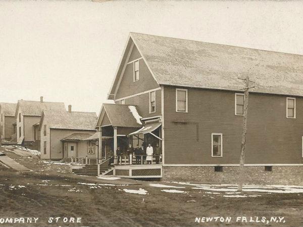 The company store in Newton Falls
