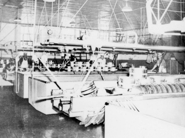 : Interior shot of Hermon Dairy Company in Hermon