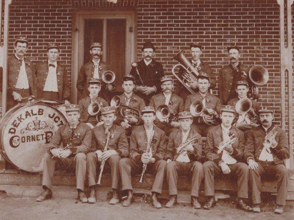 The De Kalb Junction Coronet Band