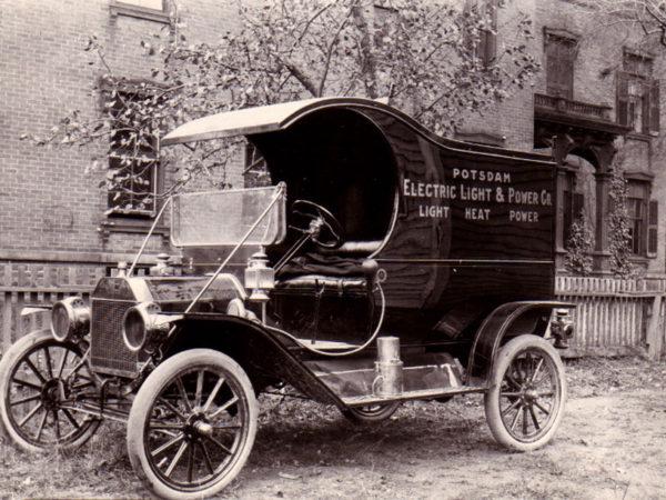 Electric Light & Power Company service truck No. 1 in Potsdam