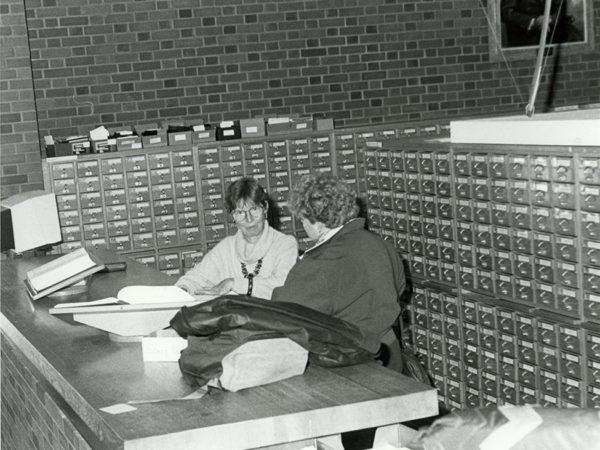SUNY Potsdam Librarian Selma Foster in Potsdam