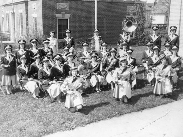 The Hammond High School Senior Band in Hammond
