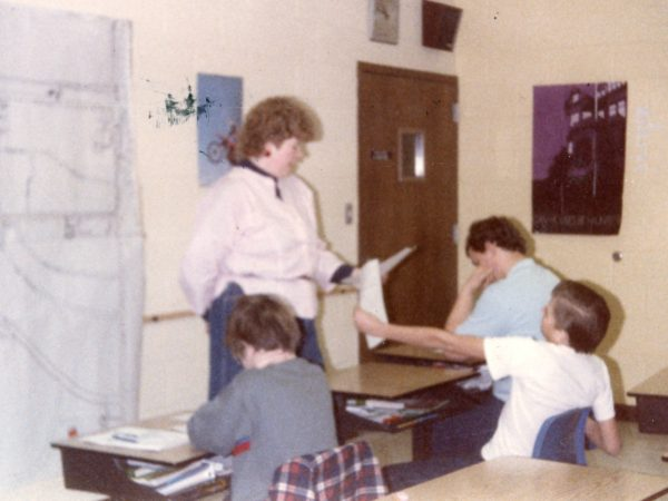 Jennifer McGregor teaching special needs students in Clayton