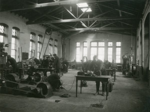 The machine shop at the Clarkson School of Technology in Potsdam