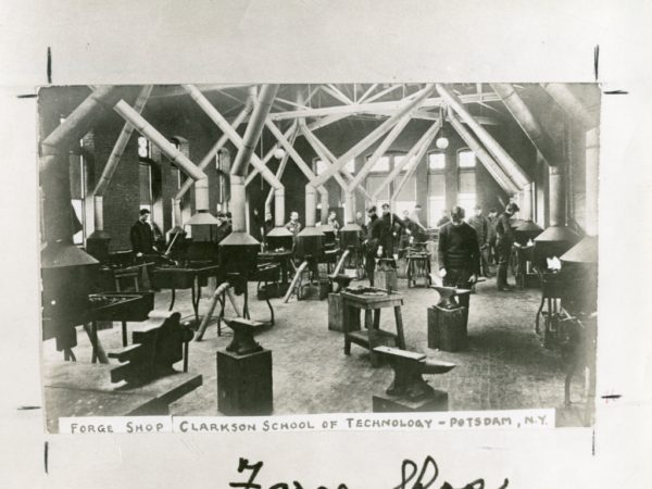 The forge shop at Clarkson School of Technology in Potsdam
