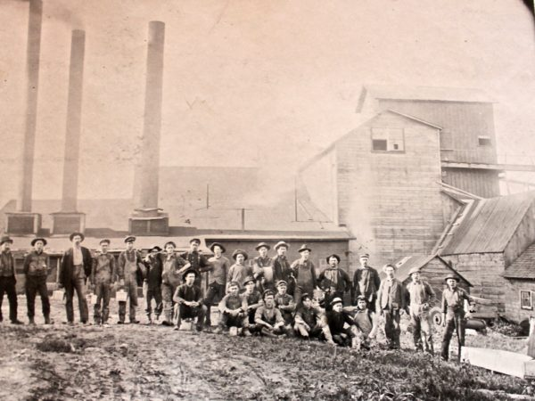 Mill workers in Potsdam