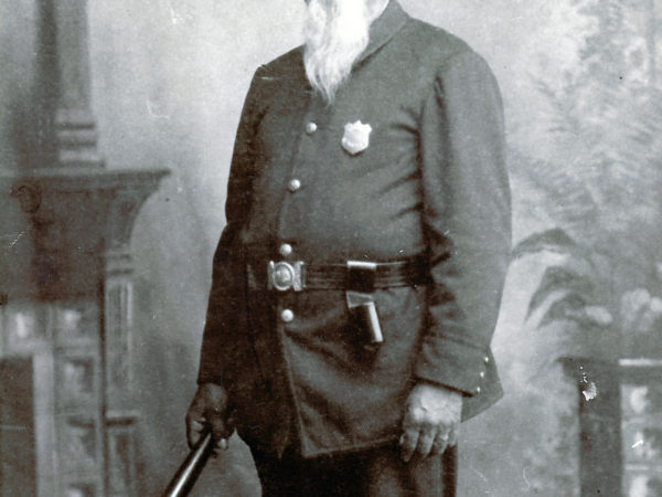 Constable Charles Hanmer in Long Lake