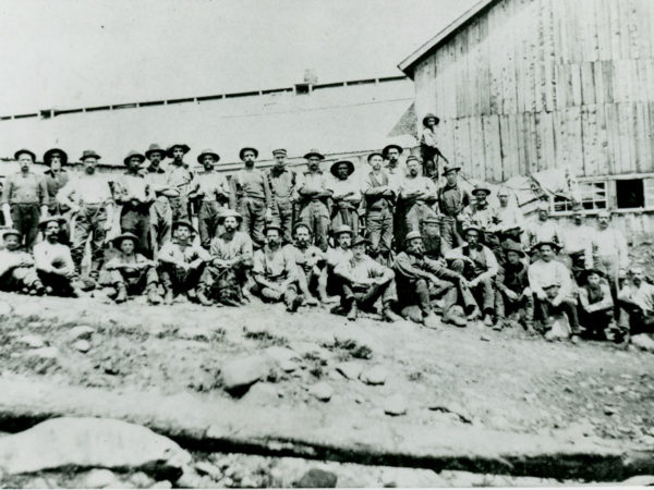 Rice Emery Company Tannery workers in Griffin