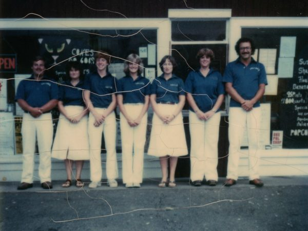 Employees of Custard's Last Stand in Long Lake