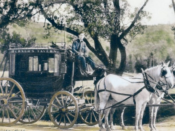 Blue Mountain Lake Stagecoach in the Adirondacks