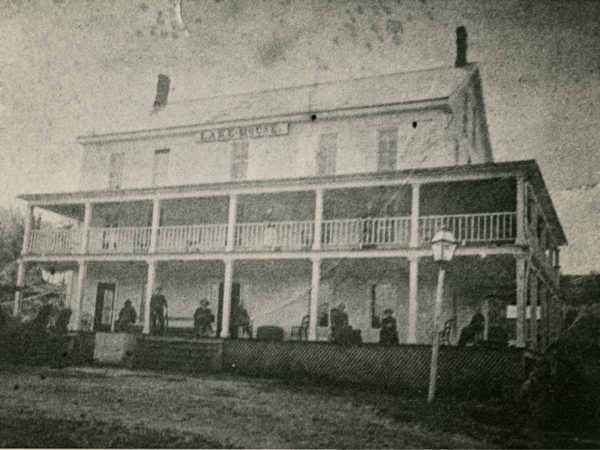The Lake House hotel in Long Lake
