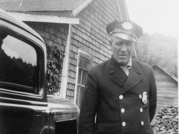 Policeman Willie Hanmer in Long Lake