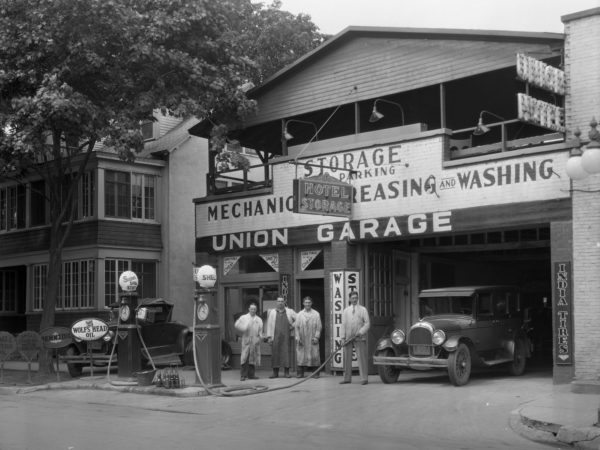 Union Garage in Plattsburgh