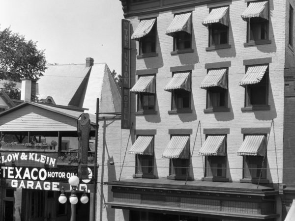 Union Hotel in downtown Plattsburgh