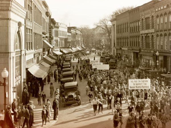 Business Parade in Plattsburgh