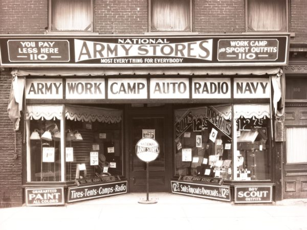 National Army Store in downtown Plattsburgh