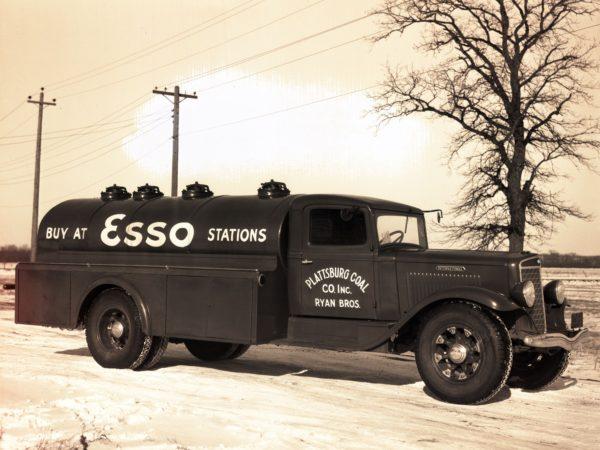 Fuel Truck in Plattsburgh