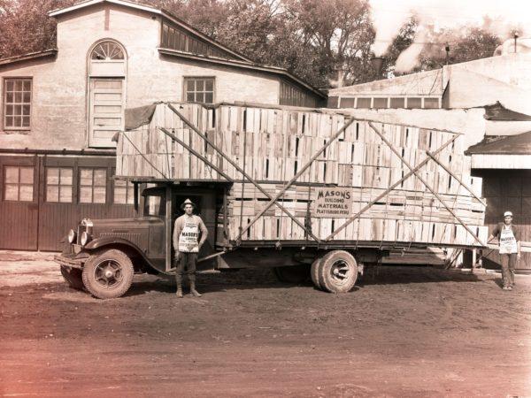 A. Mason & Sons Truck in Peru