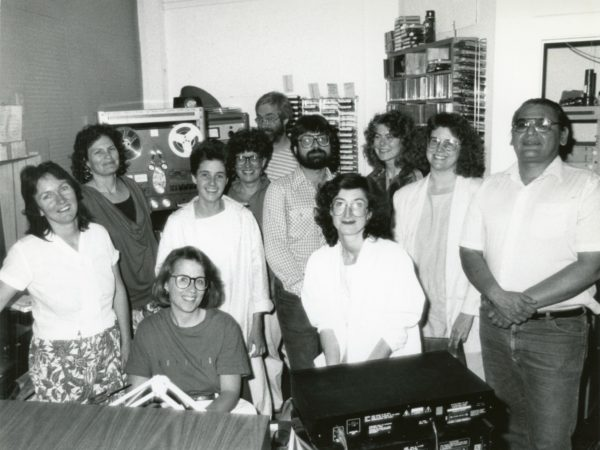 Staff photo at North Country Public Radio in Canton
