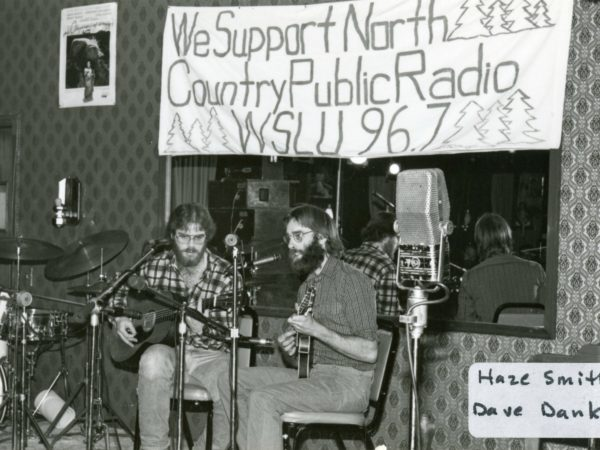 Haze Smith and Dave Danks play at NCPR fundraiser in Canton