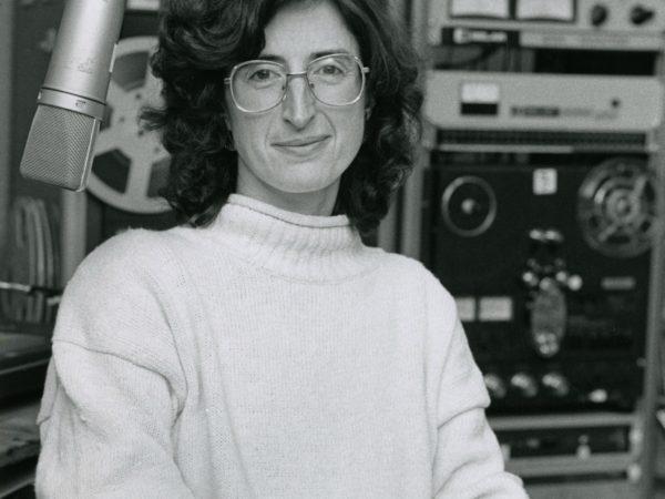 Program director Jackie Sauter in studio in Canton