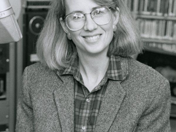 NCPR associate news director Martha Foley in Canton