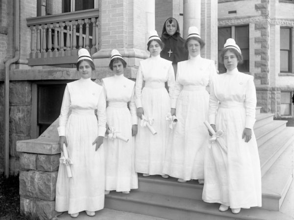 Nurses at hospital in Plattsburgh
