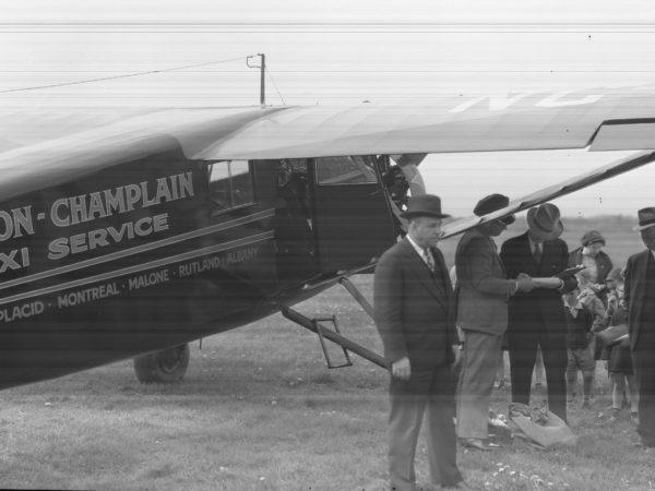 First Air Mail Service in Plattsburgh