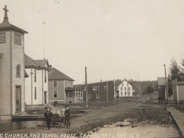 Main Street in Cranberry Lake