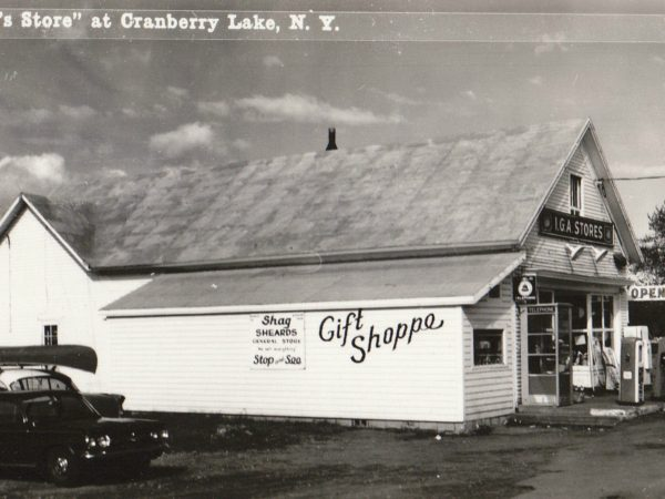 Shag Sheard's general store in Cranberry Lake