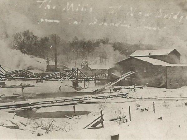 The mills in Newbridge