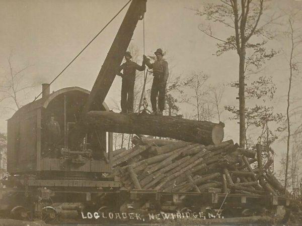 Barnhart log loader in Newbridge