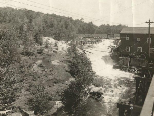 Power plant in Newton Falls
