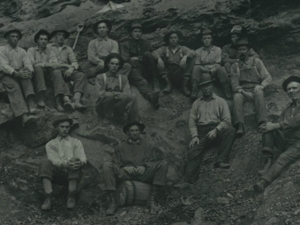 Worker portrait in the pit at Benson Mines