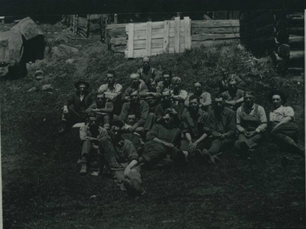 Miners in Benson Mines
