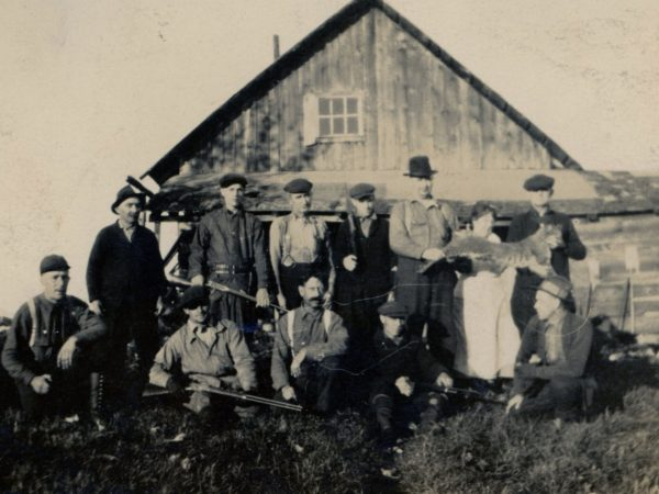 Hunting camp in Harrisville