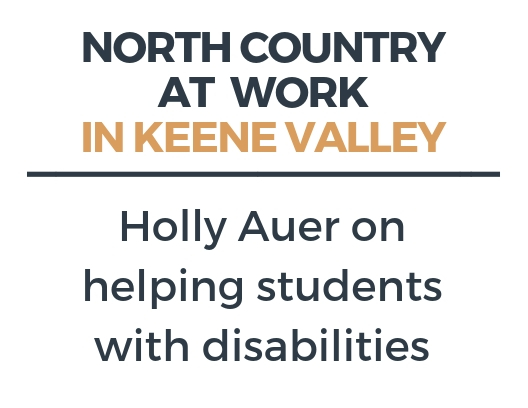 Working as a TA for students with disabilities in Lake Placid