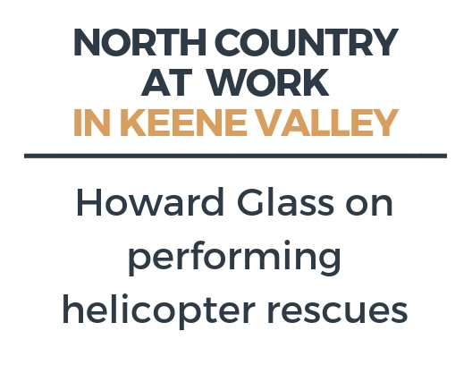 Performing a helicopter rescue in Keene Valley