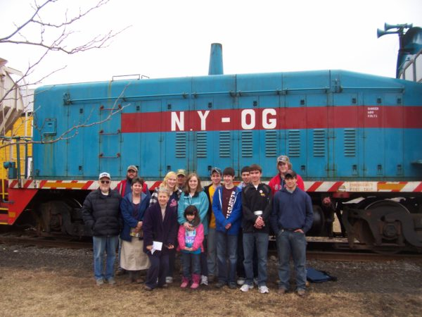Kids' Day at the Lisbon Depot Museum