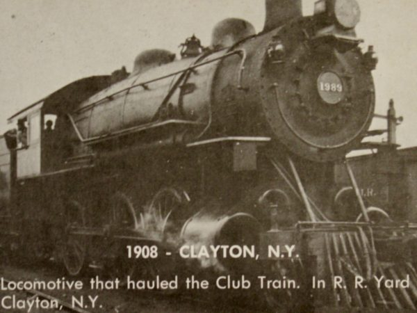 Locomotive in Clayton